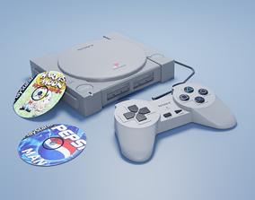 3D model Playstation 1