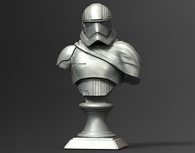 Captain Phasma Bust Fan Art bust 3D printable model
