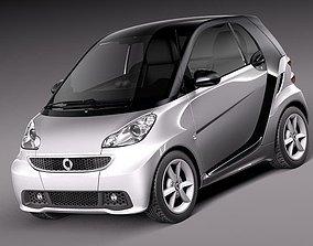 3D model Smart 42 fortwo 2013