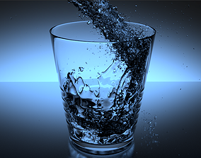 Glass of Water 3D