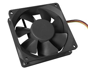 3D PC Fan 80x25 mm