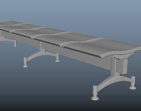 3D asset Waiting Room Seat 2