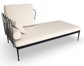 3D model Fleurs Corner Sofa
