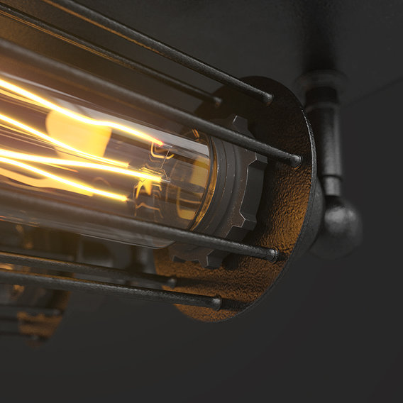 Loft Steampunk Lamps | CGI