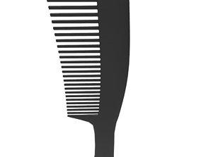 hair comb 3D asset