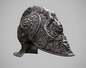 Burgonet Filippo Negroli 3D model