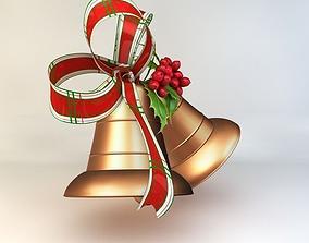 Christmas bell 3D