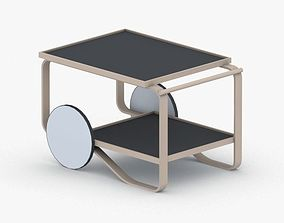 3D asset low-poly 0553 - Coffee Table