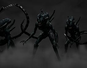 Xenomorph 3D asset