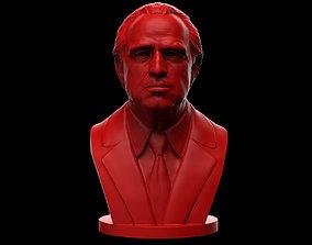 3D printable model Vito Corleone - The Godfather - Marlon