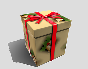 3D asset game-ready Christmas Present