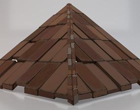 3D model Brick Roof