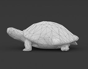 3D model Low Poly Turtle Tortoise