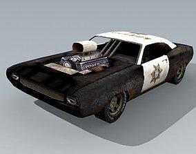 old PoliceCar 3D model