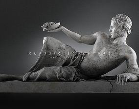3D printable model sculptures Male sculpture