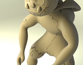 3D asset Nice gargoyle