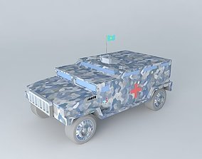 Sanytarnaya bronevyk 3D model