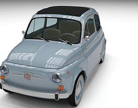 3D model Fiat Nuova 500 1957