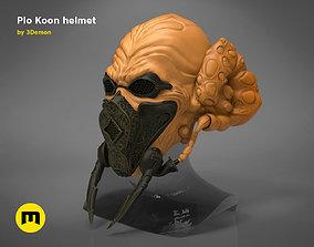 3D print model The Plo Koon helmet