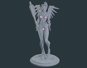 nude 3D printable model Overwatch - Mercy