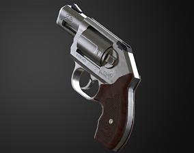 Kimber K6s Game Ready Revolver 3D asset