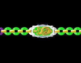 bracelets 3D print model DIAMOND JEWELLERY