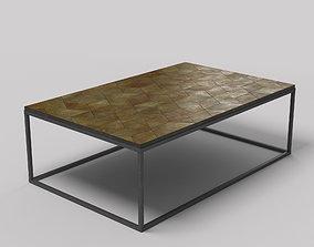 Metal Coffee Table 3D model VR / AR ready