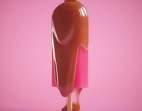 sweet 3D model animated Ice Cream