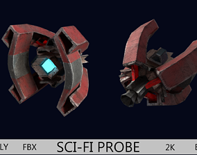 3D asset SCI-FI PROBE