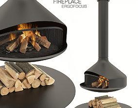 Fireplace Ergofocus 3D