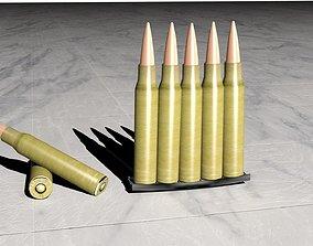3D model 7 92 57 mm Mauser ammo