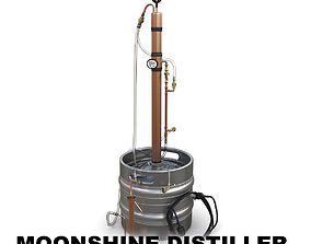3D model Moonshine distiller