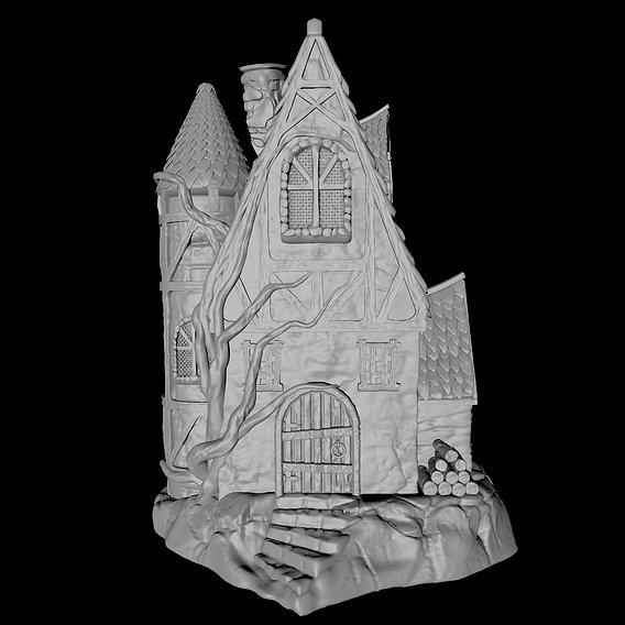 Fairy Cottage - 3D Printable