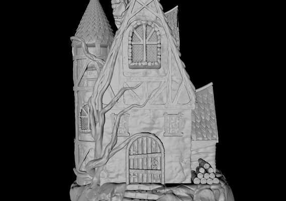 Fairy Cottage - 3D Printable