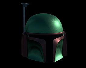 Boba Fett Helmet 3D