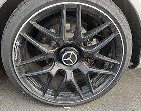 3D print model Mercedes amg replica wheel cap hobby-diy