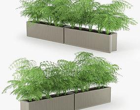 Flowerbed terracotta 3D model