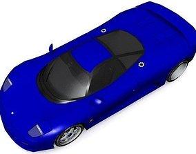 3D asset Jaguar XJR-15