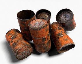 3D asset Barrels 04