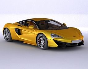 McLaren 750 3d model