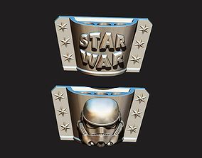3D printable model PENCIL HOLDER - Storm trooper - STAR 1