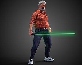 George Lucas 3D model