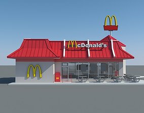 McDonalds Restaurant 002 3D model