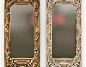 Art Nouveau Mirror 3D print