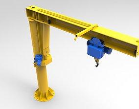 3D asset Jib crane