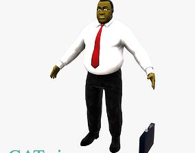 3D asset University Lecturer