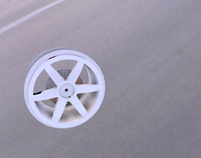 3D printable model Only Disc 40mm wide 12mm hex