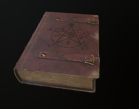 3D model The Book