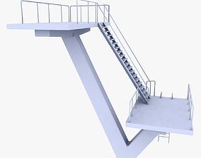 3D model Diving Platform