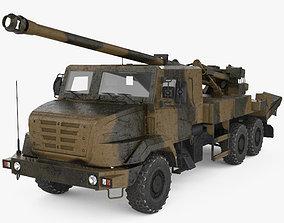 CAESAR self-propelled howitzer 3D